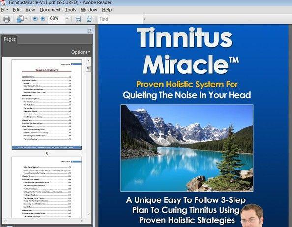 Tinnitus miracle thomas coleman free download pdf online